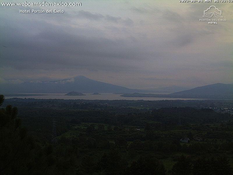 Webcam en vivo del Lago de Pátzcuaro en Michoacán