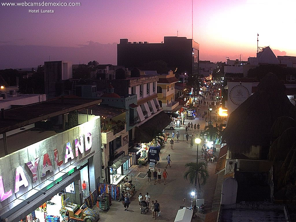 Webcam For The Port Of Playa del Carmen